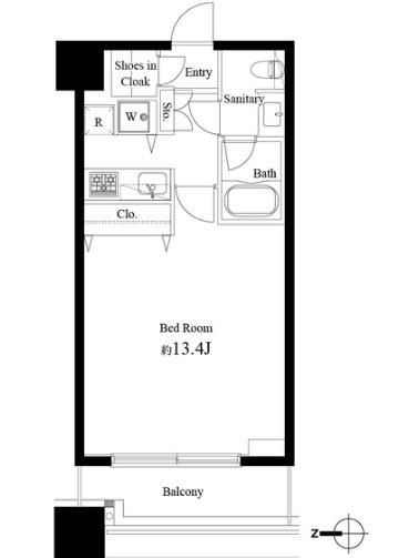 コンシェリア西新宿タワーズウエスト1204号室