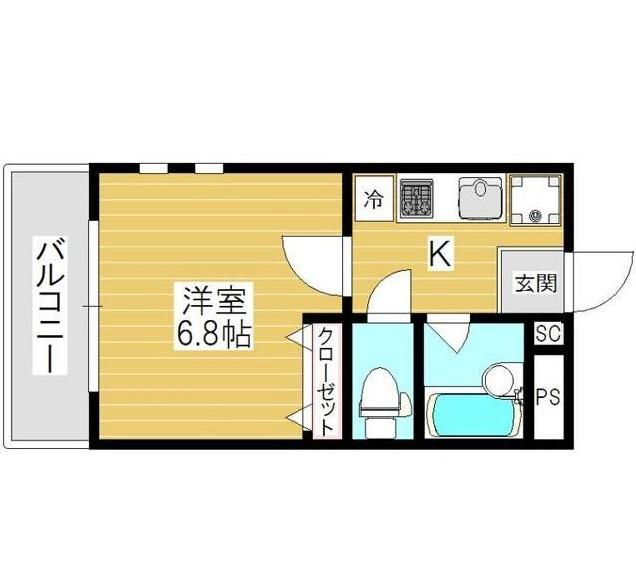 チェリーコート笹塚401号室