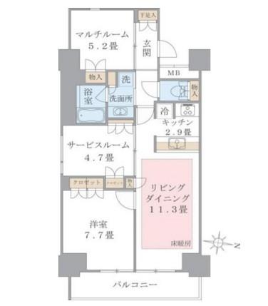 Brillia ist 東雲キャナルコート1015号室