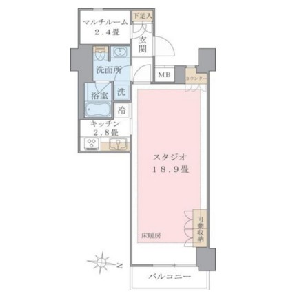 Brillia ist 東雲キャナルコート1021号室