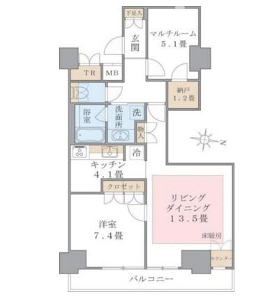 Brillia ist 東雲キャナルコート1024号室