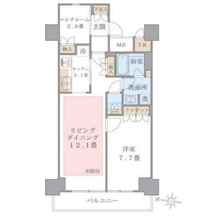 Brillia ist 東雲キャナルコート1104号室