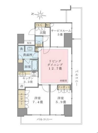Brillia ist 東雲キャナルコート1113号室