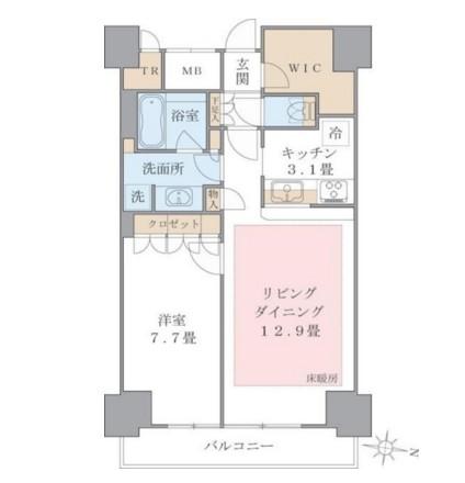 Brillia ist 東雲キャナルコート1218号室