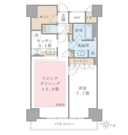 Brillia ist 東雲キャナルコート1219号室