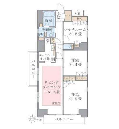 Brillia ist 東雲キャナルコート1314号室