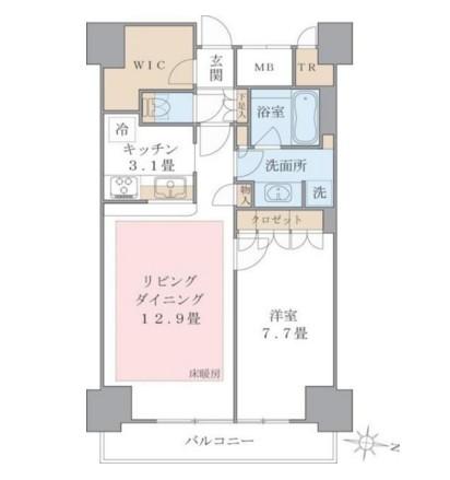 Brillia ist 東雲キャナルコート1317号室