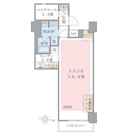 Brillia ist 東雲キャナルコート1319号室