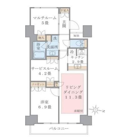 Brillia ist 東雲キャナルコート1321号室