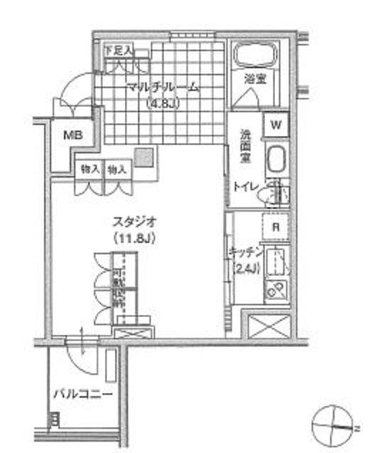 アパートメンツ東雲キャナルコート239号室