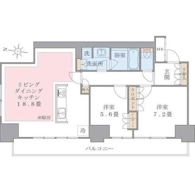 Brillia ist 東雲キャナルコート302号室