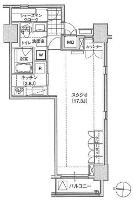 アパートメンツ東雲キャナルコート310号室