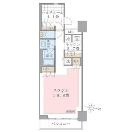 Brillia ist 東雲キャナルコート320号室