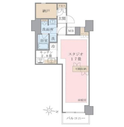 Brillia ist 東雲キャナルコート322号室