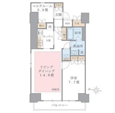Brillia ist 東雲キャナルコート405号室