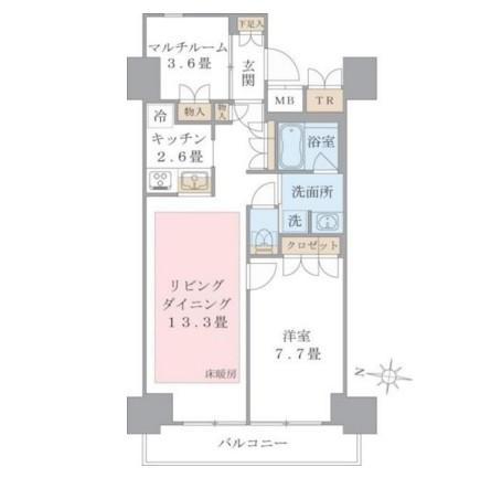 Brillia ist 東雲キャナルコート413号室