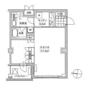 アパートメンツ東雲キャナルコート437号室