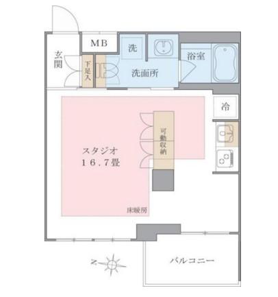 Brillia ist 東雲キャナルコート438号室