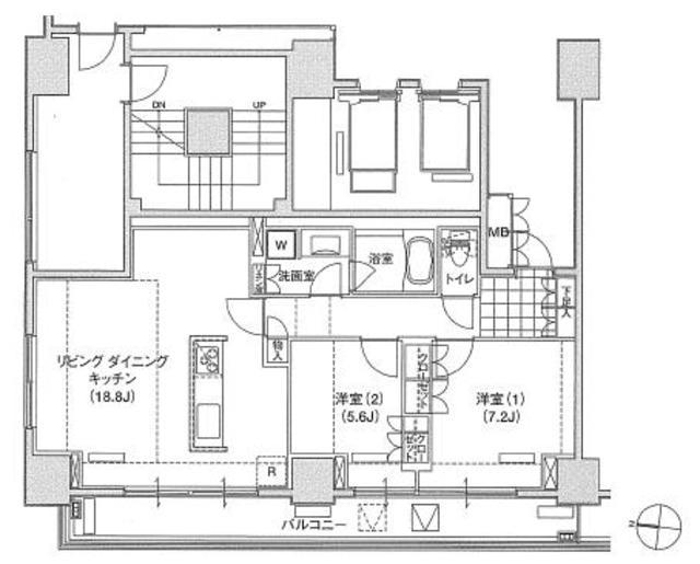 アパートメンツ東雲キャナルコート502号室