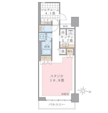 Brillia ist 東雲キャナルコート520号室