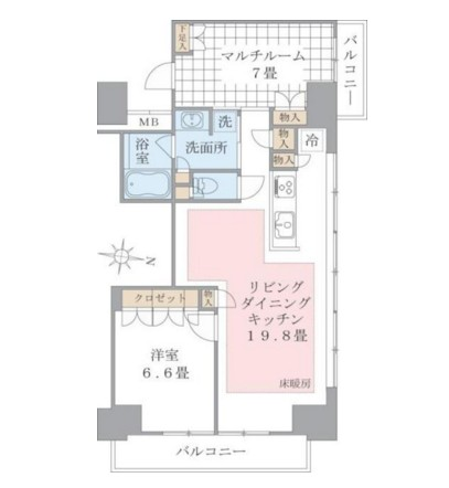 Brillia ist 東雲キャナルコート532号室