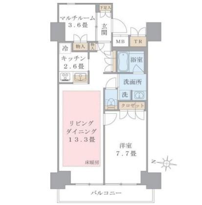 Brillia ist 東雲キャナルコート613号室