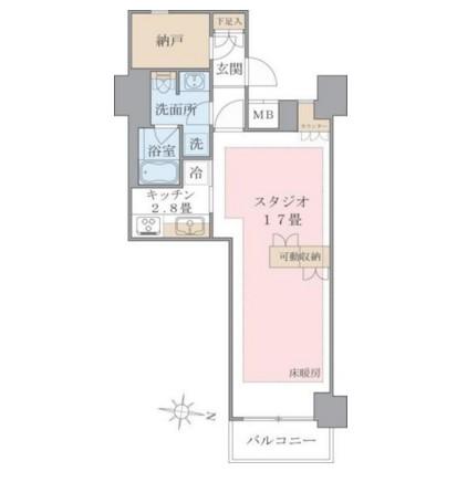 Brillia ist 東雲キャナルコート627号室