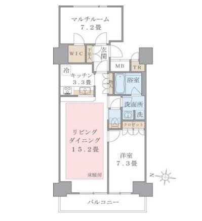 Brillia ist 東雲キャナルコート810号室