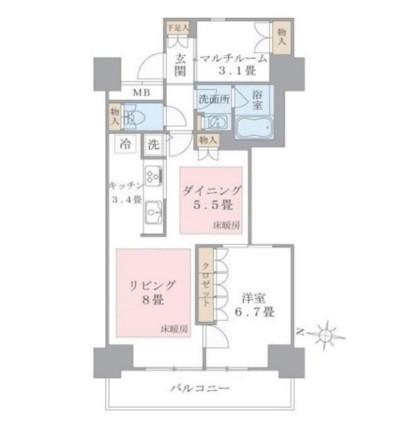 Brillia ist 東雲キャナルコート907号室