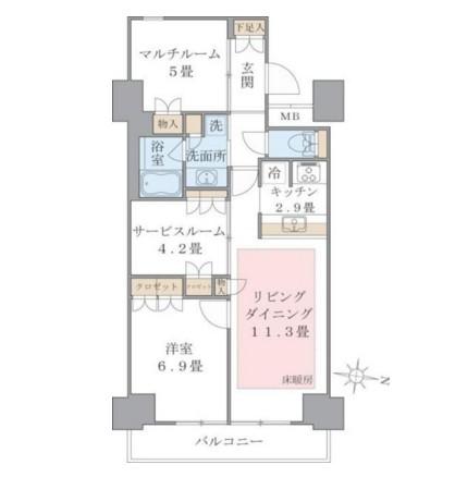 Brillia ist 東雲キャナルコート918号室