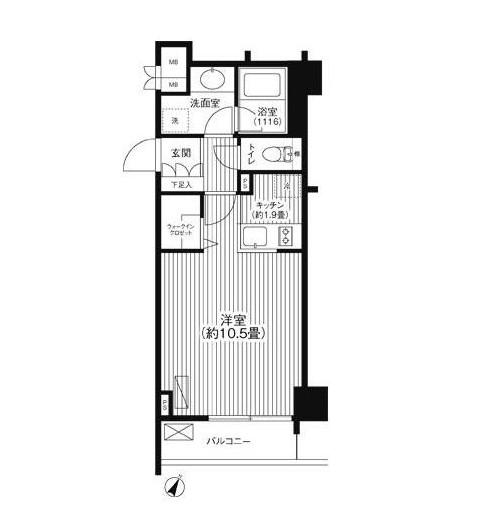 グランハイツ代々木1307号室