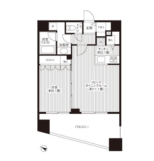 グランハイツ代々木1403号室