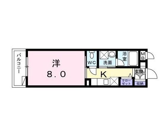 エテルノ代々木102号室