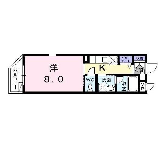 エテルノ代々木301号室