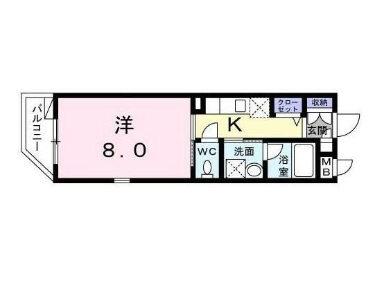 エテルノ代々木303号室