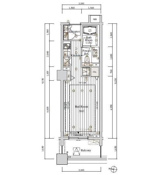 レグノ・セレーノ416号室