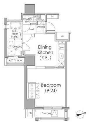 パークハビオ戸越603号室