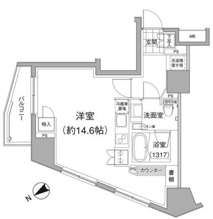 パークハビオ元麻布201号室