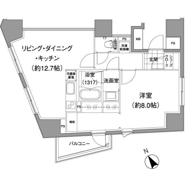 パークハビオ元麻布402号室