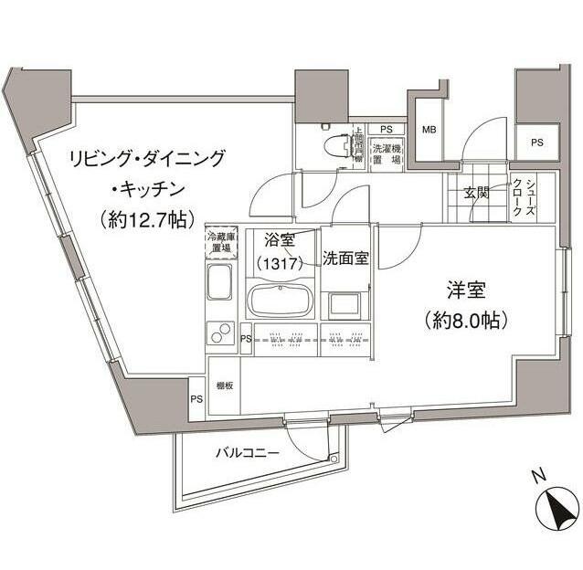 パークハビオ元麻布502号室