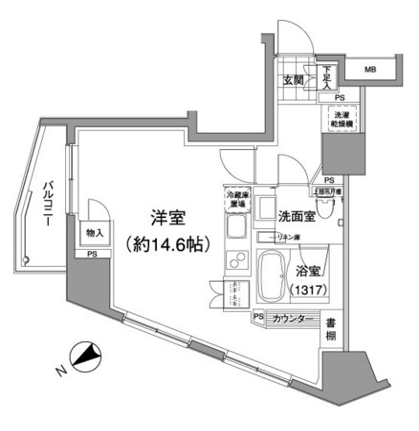 パークハビオ元麻布701号室