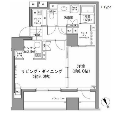 パークハビオ八丁堀409号室