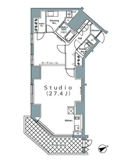 パークハビオ麻布台101号室