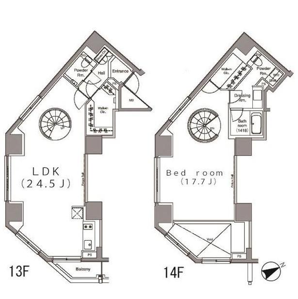 パークハビオ麻布台1302号室