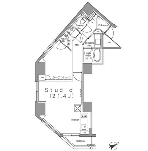 パークハビオ麻布台402号室