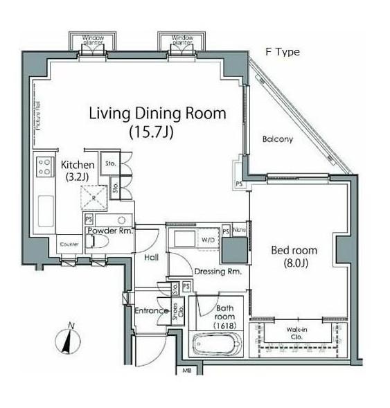 グレンパーク原宿303号室