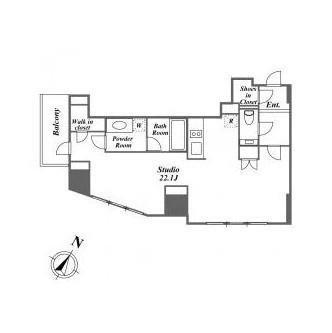 ザ・ベルグレイヴィア麻布801号室