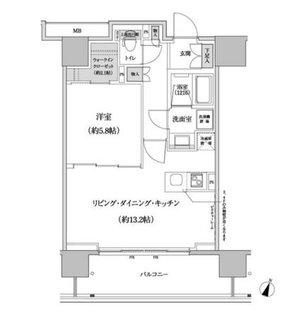 パークハビオ渋谷本町レジデンス1011号室
