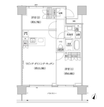 パークハビオ渋谷本町レジデンス1104号室