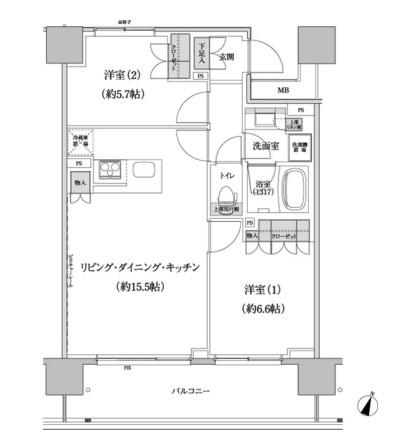パークハビオ渋谷本町レジデンス1106号室